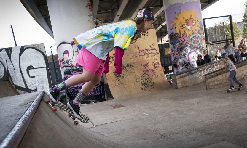 Women in Motion in Skate Kitchen: Shredding Along the Half Pipe of Immersive Audiovisual Bliss - Gallery Slide #1